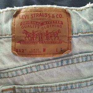 Levis Vintage Slim fit tapered legs